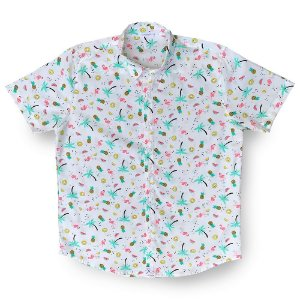 Camisa Flamingo Citric Kamizahia