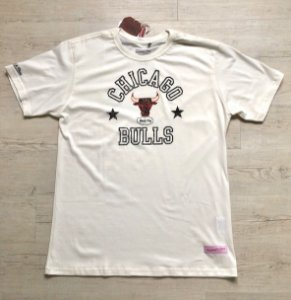 Camiseta Mitchell & Ness Down To Natural Off White
