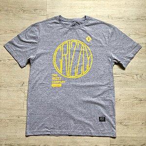Camiseta Grizzly - Cinza Mescla