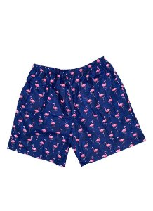 Shorts Flamingo Noite