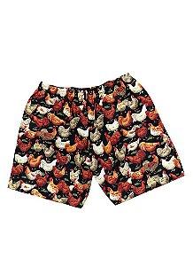 Shorts Galo Preto