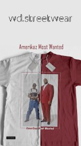 Camiseta WD Amerikaz Most Wanted
