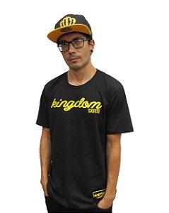 Camiseta Kingdom Escrita Logo