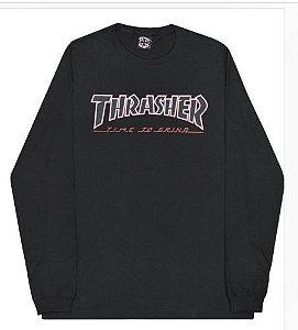 Camiseta Manga Longa Thrasher  THR