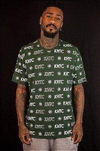 Camiseta Khaotic Logo Verde