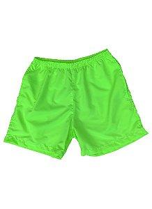 Shorts Neon Verde