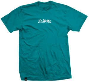 Camiseta Save Algodão Sustentável Turquesa