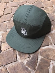 BONÉ FIVE PANEL MOTHAFOTOM RIPSTOP VERDE