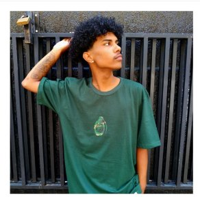 Camiseta Granada Camo Foton - Verde