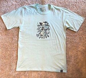 Camiseta Mirror Foton - Verde Claro
