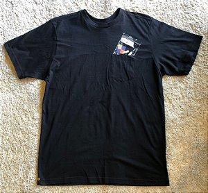 Camiseta Other Culture Bolso Preta