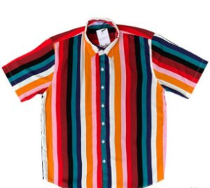Camisa Kamizahia Color Stripes