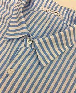 Camisa Kamizahia Marinha