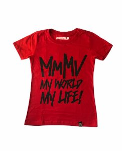 Baby Look MMMV Vermelha