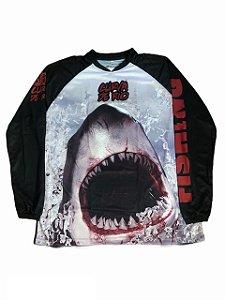 Camisa Pesca Curva de Rio Tubarão
