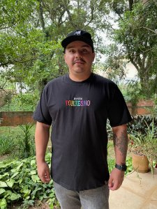 Camiseta Preta MMMV Bordado TORRESMO