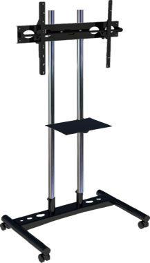Pedestal para TV com roda com bandeja de apoio PBR1800