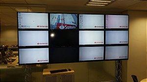 suporte para video wall 3x4