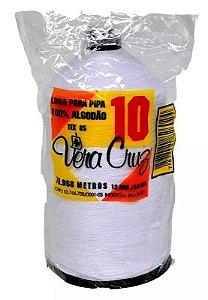 Linha De Pipa 10 Vera Cruz 12.000 Jardas Branca