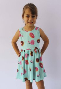vestido infantil básico de malha katitus docinho