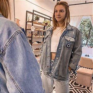 Jaqueta Jeans Xô Olho Gordo