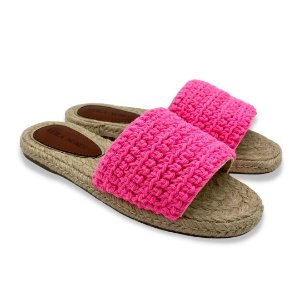 Slide Crochê Pink Neon