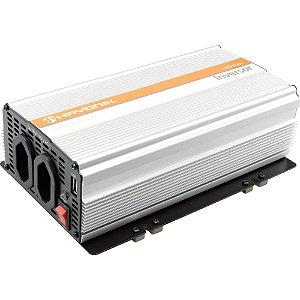 Inversor Onda Modificada 12VDC/127V USB 1200W HAYONIK