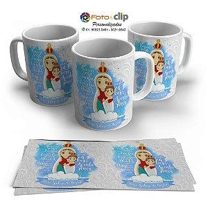 Nossa Senhora de Nazaré - Caneca de porcelana 325ML