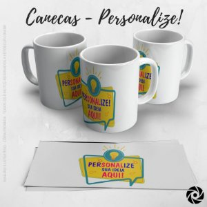 Caneca Simples - PERSONALIZE!