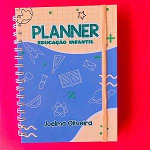 Planner do Professor - Educação Infantil - Tamanho A5 (21cm x 15 cm)