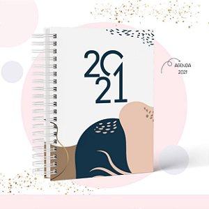 Agenda Feminina 2021 - Datada ou Permanente.