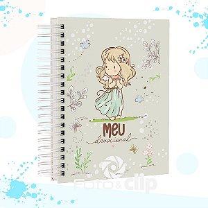 Caderno Devocional - Menina