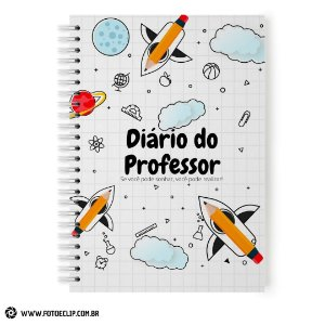 Diário Planner do Professor Permanente