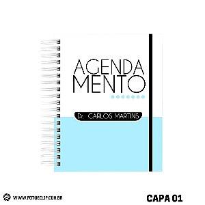 Agendamentos Masculinos - Agenda para marcação de atendimentos - Permanente