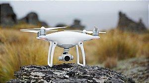 Drone Dji Phantom 4 + Mala + 2 Baterias