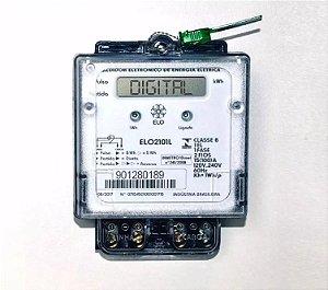 Medidor Relógio Luz Energia Monofásico Digital Novo