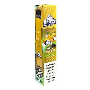 Pod Descartável Mr Freeze 650 Puffs - Mango Frost