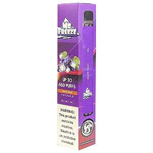 Pod Descartável Mr Freeze 650 Puffs - Grape Frost