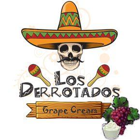 Juice Los Derrotados - Grape Cream (30ml/0mg)