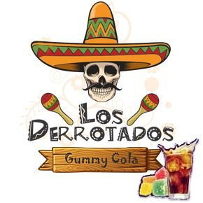 Juice Los Derrotados - Gummy Cola (30ml/0mg)