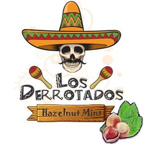 Juice Los Derrotados - Hazelnut Mint (30ml/0mg)