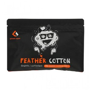 Algodão Geek Vape Feather Cotton 20pcs