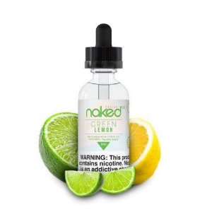 Juice Naked Green Lemon (60ml/0mg)