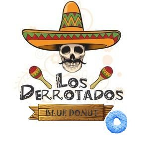 Juice Los Derrotados - Blue Donut (30ml/3mg)