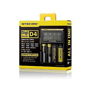 Carregador Baterias Nitecore Digicharger D4