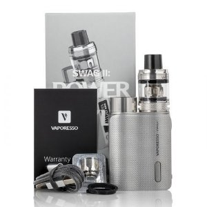 Vape Kit Vaporesso Swag II 3,5ML - Prata