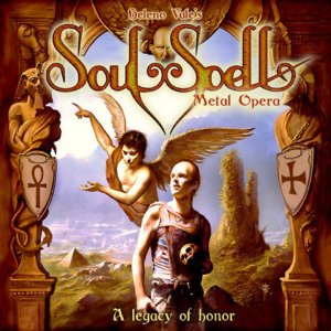 CD - SOULSPELL METAL OPERA - ACT I - A LEGACY OF HONOR