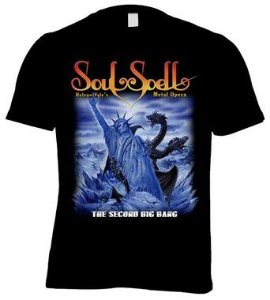CAMISETA SOULSPELL ACT IV - THE SECOND BIG BANG