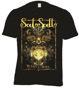 CAMISETA SOULSPELL X YEARS OF SOUL