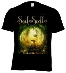 CAMISETA SOULSPELL - DUNGEONS AND DRAGONS
